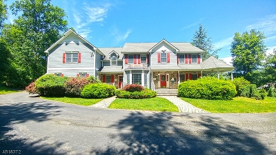 Sussex County Single Family Home For Sale: 12 Hidden Valley Rd