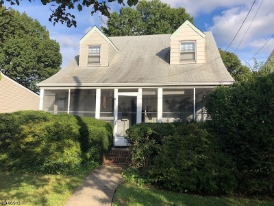 Passaic County Single Family Home For Sale: 22 Fitzgerald Ave