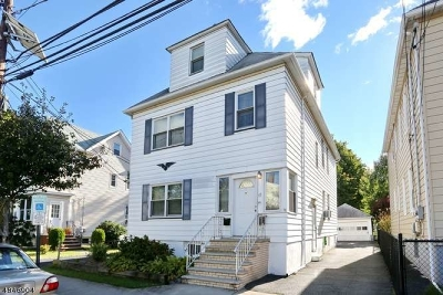 Passaic County Multi Family Home For Sale: 17 Bowdoin St