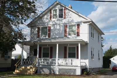 Manville Boro NJ Multi Family Home For Sale: $320,000