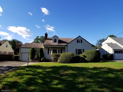 North Plainfield Boro NJ Single Family Home For Sale: $229,000