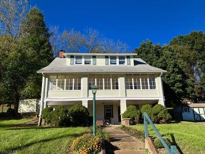 High Bridge Boro Single Family Home For Sale: 36 Beavers Street