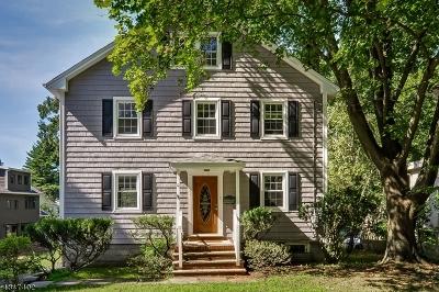 Millburn Twp. Single Family Home For Sale: 90 Hobart Ave
