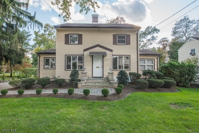 West Caldwell Twp. Single Family Home For Sale: 14 Pleasant Ave
