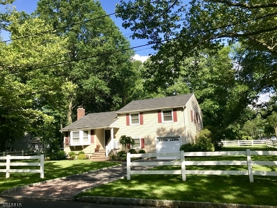 Scotch Plains Twp. Single Family Home For Sale: 1900 Mary Ellen Ln