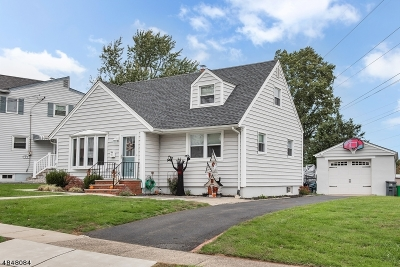 Nutley Twp. NJ Single Family Home For Sale: $399,900