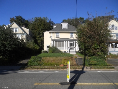 Montclair Twp. Multi Family Home For Sale: 158 Valley Rd