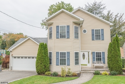 Nutley Twp. NJ Single Family Home For Sale: $563,000