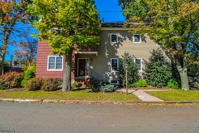 Berkeley Heights Multi Family Home For Sale: 114/116 Snyder Ave