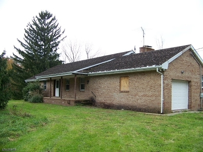 Kingwood Twp. Single Family Home For Sale: 205 Barbertown-Idell Rd