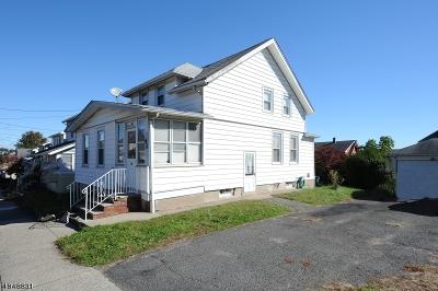 Totowa Boro Single Family Home For Sale: 62 Washington Pl