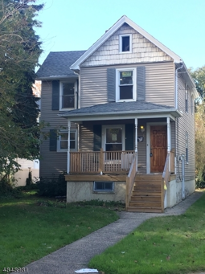 Cranford Twp. Single Family Home For Sale: 14 Grove