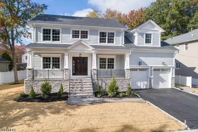 Cranford Twp. Single Family Home For Sale: 23 Normandie Pl