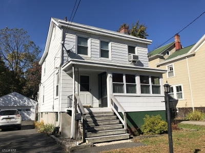 Morristown Town, Morris Twp. Single Family Home For Sale: 57 James St