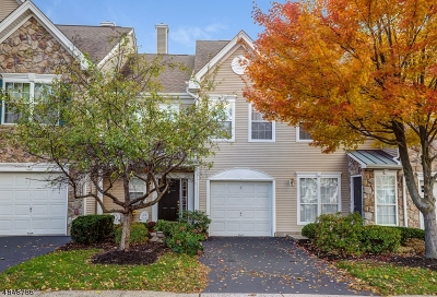 Bernards Twp. Condo/Townhouse For Sale: 7 Dorchester Dr