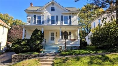 Bethlehem Twp., High Bridge Boro Single Family Home For Sale: 7 E Main St
