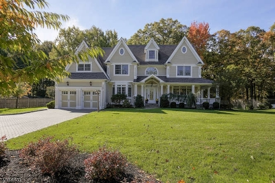 Scotch Plains Twp. Single Family Home For Sale: 1470 Terrill Road