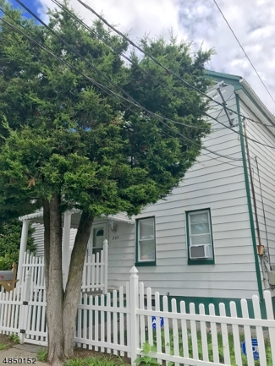 Paterson City Single Family Home For Sale: 203 Paxton St