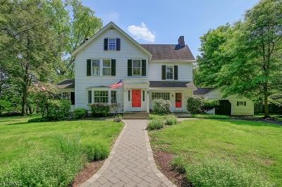 Bernards Twp. Single Family Home For Sale: 117 Cross Rd