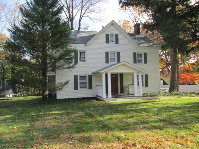 Bernardsville Boro Multi Family Home For Sale: 207 Finley Ave