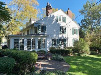 Maplewood Twp. Single Family Home For Sale: 509 Ridgewood Rd
