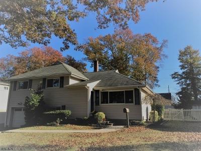 Cranford Twp. Single Family Home For Sale: 11 Georgia St