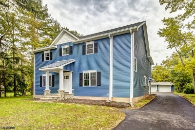 Bridgewater Twp. Single Family Home For Sale: 710 Foothill Rd