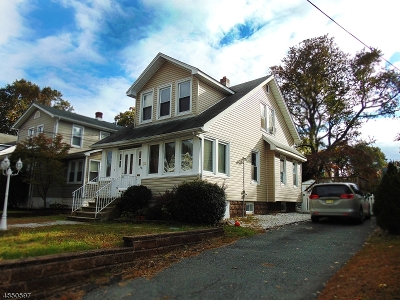 Nutley Twp. NJ Single Family Home For Sale: $429,999