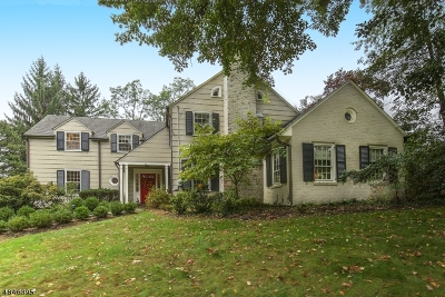Millburn Twp. Single Family Home For Sale: 55 West Rd