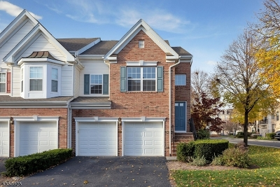 Nutley Twp. NJ Condo/Townhouse For Sale: $472,000