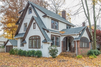 Westfield Town NJ Single Family Home For Sale: $789,000