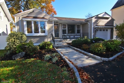 Kenilworth Boro Single Family Home For Sale: 344 S Michigan Ave