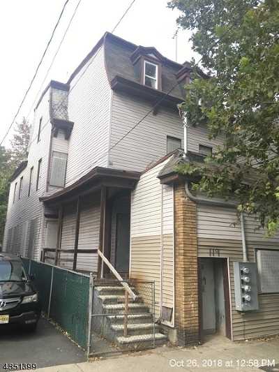 Paterson City Multi Family Home For Sale: 119 N. Main St