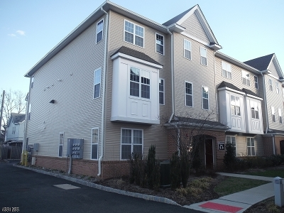 Passaic City Condo/Townhouse For Sale: 410 Howe Ave