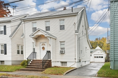 Clifton City Single Family Home For Sale: 110 Sargeant Ave