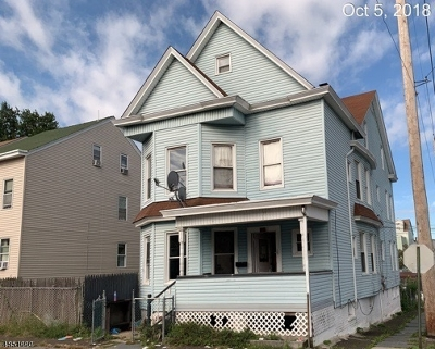 Paterson City Multi Family Home For Sale: 110-112 Butler St