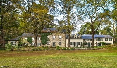 Mendham Boro, Mendham Twp. Single Family Home For Sale: 6 Stone House Road