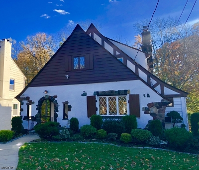 Millburn Twp. Single Family Home For Sale: 46 Greenwood Dr