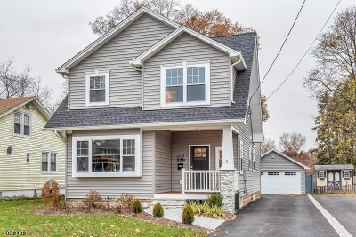 Morris Twp., Morristown Town Single Family Home For Sale: 5 Raymond Rd
