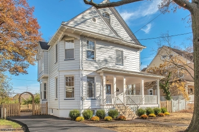 Montclair Twp. Single Family Home For Sale: 75 Pleasant Ave