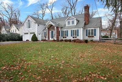 Bernards Twp., Bernardsville Boro Single Family Home For Sale: 66 Winding Ln