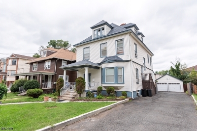 Elizabeth City Single Family Home For Sale: 239-241 Edgar Pl