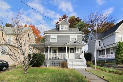 Roselle Park Boro Single Family Home For Sale: 43 E Grant Ave