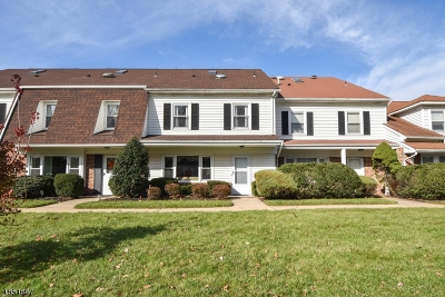 Scotch Plains Twp. Condo/Townhouse For Sale: 40 Wareham Vlg