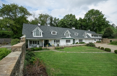 Bernards Twp., Bernardsville Boro Single Family Home For Sale: 261 Post Kunhardt Rd