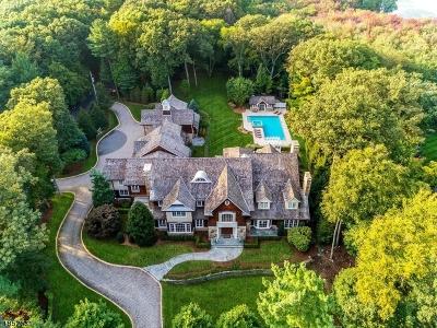 Franklin Lakes Boro NJ Single Family Home For Sale: $4,900,000