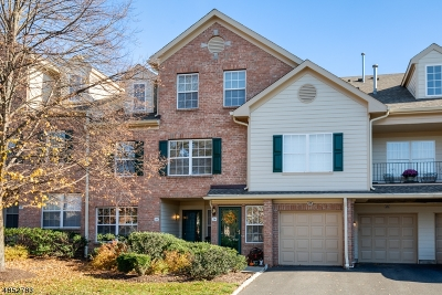 Morris Twp., Morristown Town Condo/Townhouse For Sale: 25 Gatehouse Ct