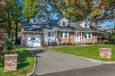 Boonton Town Single Family Home For Sale: 319 Lincoln St
