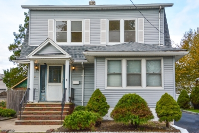 Totowa Boro Single Family Home For Sale: 37 Charles St