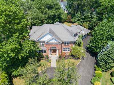Westfield Town NJ Single Family Home For Sale: $1,950,000